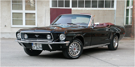 Ford Mustang 1968 GT Cabrio