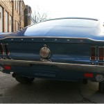 Mustang Fastback 1968 Heck